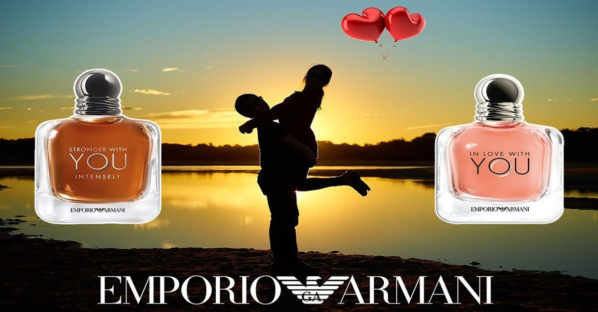 Emporio Armani In Love With You en Stronger With You Intensely
