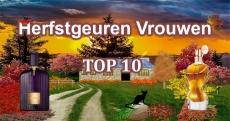 Top 10 herfstgeuren vrouwen