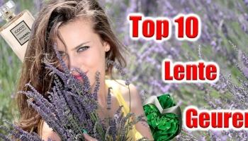 Top 10 Lente geuren vrouwen